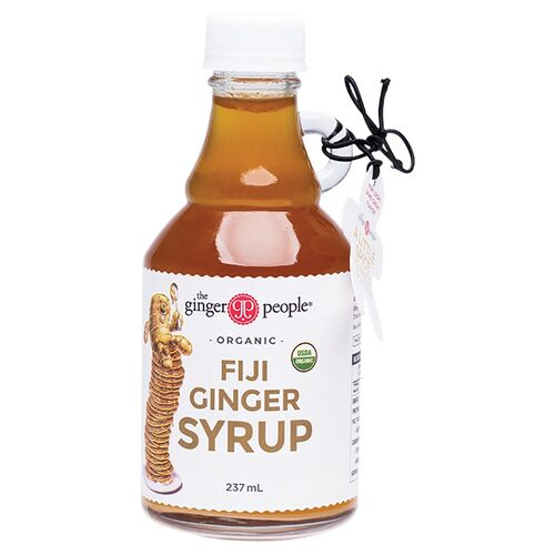 Organic Ginger Syrup 237ml