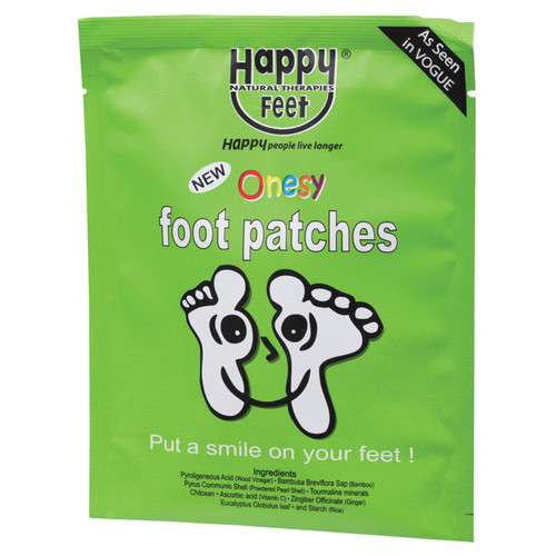 Detox Foot Patches (single pair) 2Pk