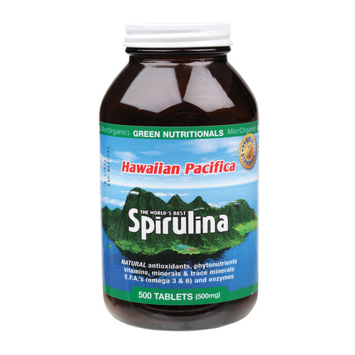 Hawaiian Spirulina Tablets (500mg) x500