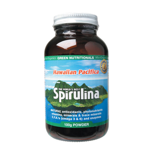 Hawaiian Spirulina Powder 100g