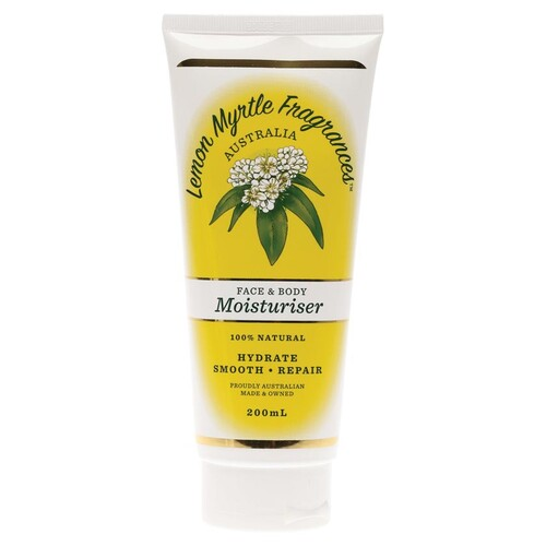 Lemon Myrtle Natural Moisturiser 200ml