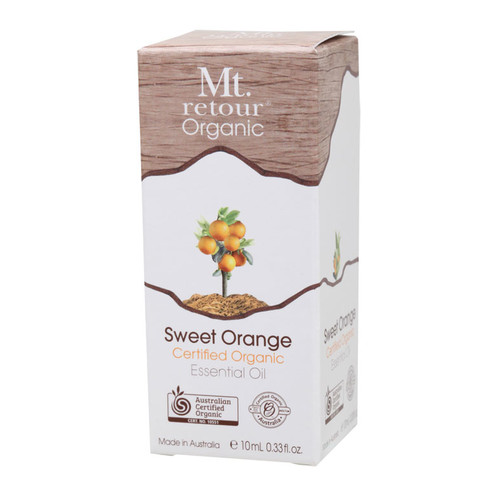 Sweet Orange Certified Organic Essential Oil 10ml