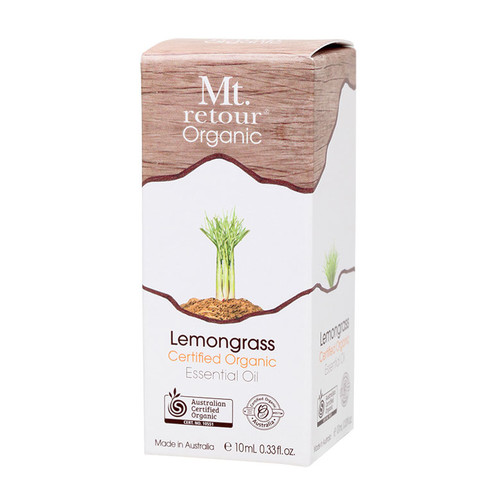 Organic Lemongrass Essential Oil 10ml