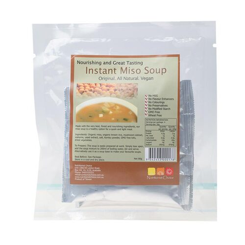 Organic Instant Miso Soup (Pack 4x20g)