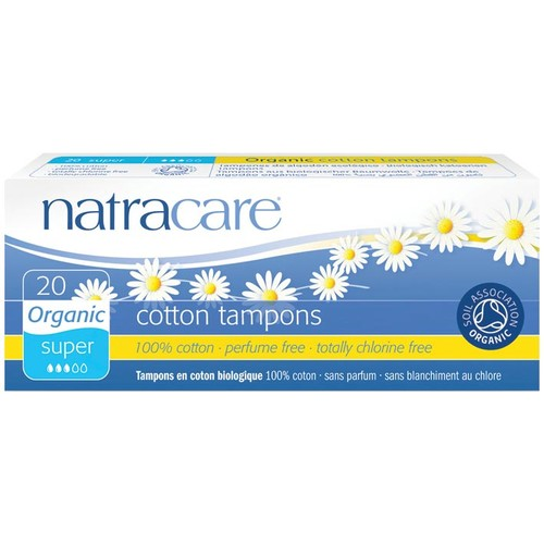 Super Natural Tampons (Non-Applicator) 22 Pk