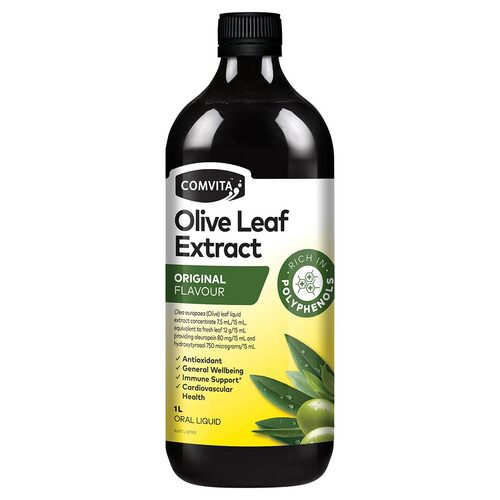 Natural Olive Leaf Extract 1L