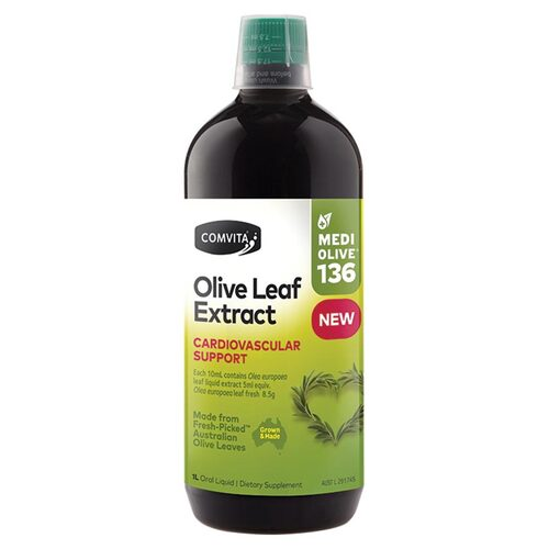 Extra Strength Natural Olive Leaf Extract 1L