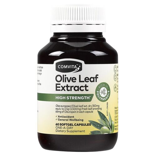 Olive Leaf Extract Capsules x60
