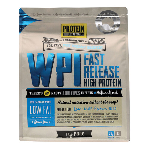 WPI (90% Fast Release Protein) 1Kg