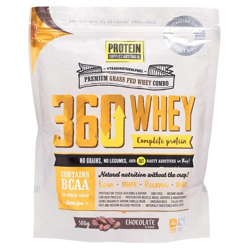 360Whey Chocolate (Complete Protein) 500g