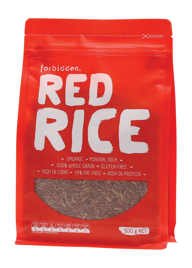 Forbidden Foods Organic Red Rice 500g | Healthy Being