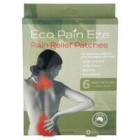 Pain Relief Patches x6