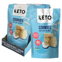 Keto Cookies - Buttery Coconut (8x64g)