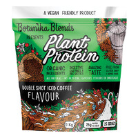 Vegan Plant Protein - Double Shot Iced Coffee 1kg