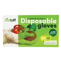 Compostable Disposable Gloves - Medium x200