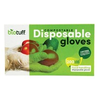 Compostable Disposable Gloves - Large x200