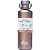 Insulated Stainless Steel Bottle - Champagne 600ml