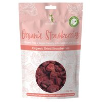 Organic Dried Strawberries 125g