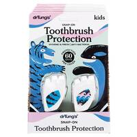Kids Snap-On Toothbrush Protection (Twin Pack)