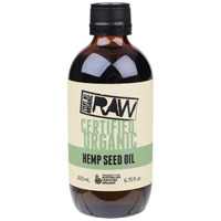 Organic Hemp Seed Oil 200ml