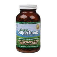Green Superfoods VegeCaps (600mg) x120