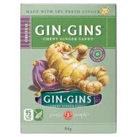 Gin Gins Original Chewy Ginger Candy 84g