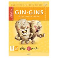 Gin Gins Double Strength Hard Ginger Candy 84g