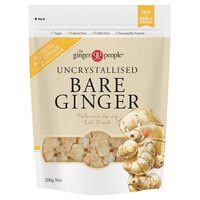 Uncrystallised Bare Ginger 200g