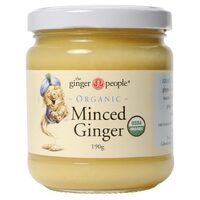 Organic Minced Ginger 190g