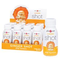 Ginger Shots - Wild Turmeric (12x60ml)