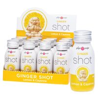 Ginger Shots - Lemon Cayenne (12x60ml)
