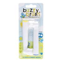 Buzzy Brush Replacement Heads (Twin Pack)