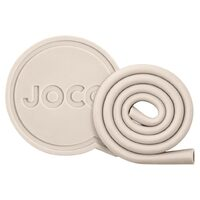 "7"" Roll Straw with Case - Sandstone"