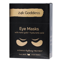 Active Gold Eye Masks (10 Pairs)