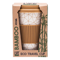 Bamboo Eco Travel Cup - Geo 430ml