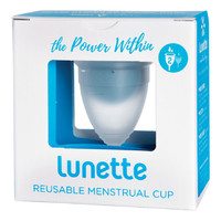 Clear Menstrual Cup (Model 2)