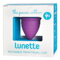 Reusable Menstrual Cup (Model 1) - Violet