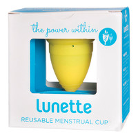 Reusable Menstrual Cup (Model 2) - Yellow