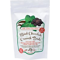 Vegan Dark Chocolate Crunch Buds - Mint 85g