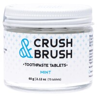 Crush & Brush Toothpaste Tablets - Mint x75