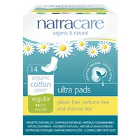 Regular Ultra Natural Pads with Wings 14 Pk