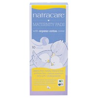 Natural Maternity Pads 10 Pk