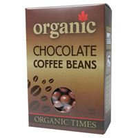 Organic Milk Chocolate Coffee Beans 150g