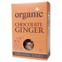 Organic Milk Chocolate Ginger 150g