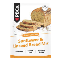 Low Carb Sunflower & Linseed Bread Mix 340g