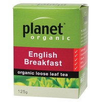 Organic Loose Leaf Tea - English Breakfast 125g