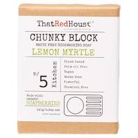 Chunky Block Dishwashing Soap - Lemon Myrtle 140g