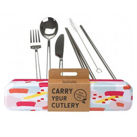 Carry Your Cutlery - Colour Splash