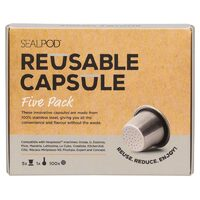 Reusable Capsules x5 (Five Pack)