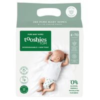 Pure Baby Wipes (Value Pack) 4x70